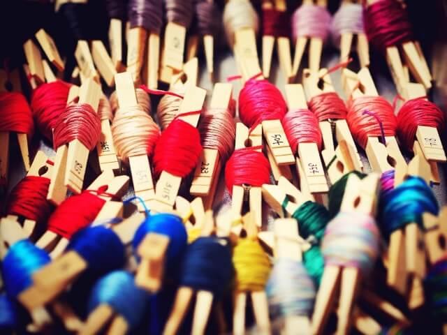 刺繍糸 収納 クリップ