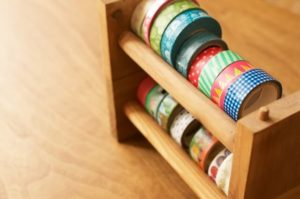 刺繍 マスキングテープ