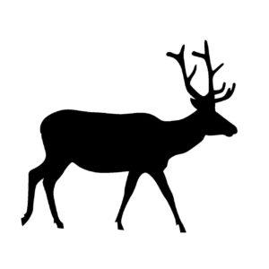 刺繍図案 北欧 動物